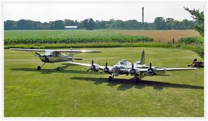 1/3 scale B-17